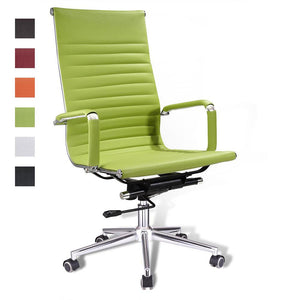 Highback Office Executive Chair Swivel Desk Chair w/ Arm Color Options