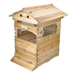 Yescom Beekeeping Beehive House Wooden Complete Box Kit for 20 Frames