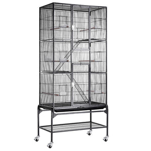 "Yescom Flight Cage Cockatiel Finch Bird 32""x18""x72"""
