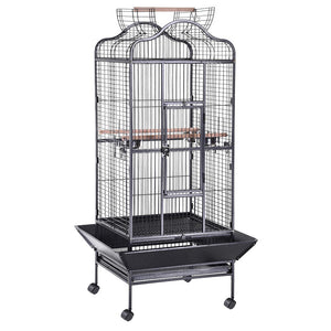 "Yescom Aviary Birds Cages Wrought Iron 32""x30""x61"""