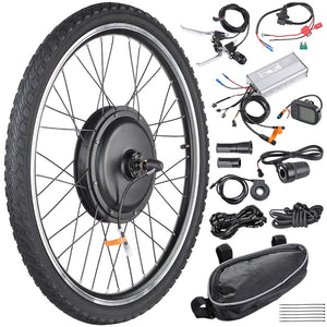 Yescom 26in Front Electric Bicycle Motor Conversion Kit 48v 1000w (Preorder)