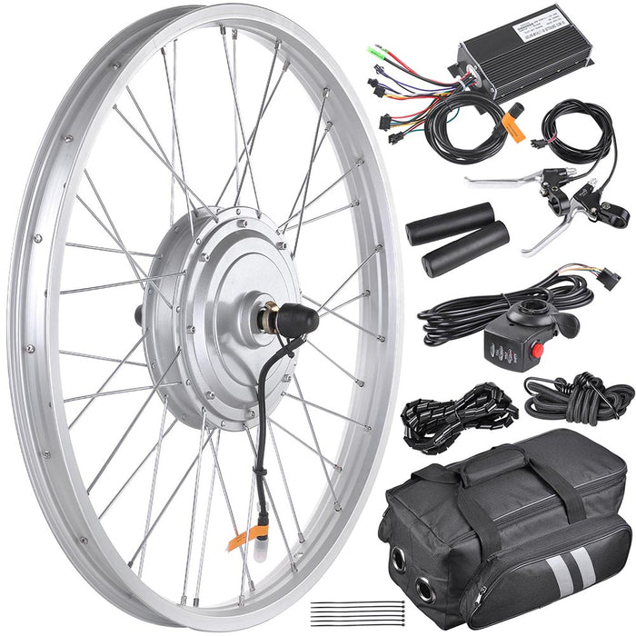 "Yescom 24"" Front Wheel Electric Bicycle Motor Kit 36v 750w"