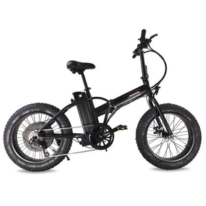 Yescom 20 Inch Folding Electric Bike Fat Tire Bicycle 36V 500W