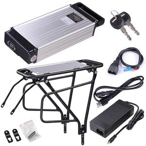 Yescom Electric Bicycle Battery Rack Li-Ion Lithium 36v 14ah