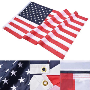 YesHom American National Flag Embroidered Star Stripe