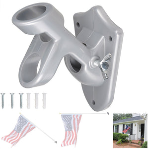 Yescom 6' American Telescoping Flag Pole Wall Bracket