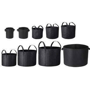 Yescom 5-Pack Grow Pots 1-25 Gallon Size Options Outdoor Indoor Storage