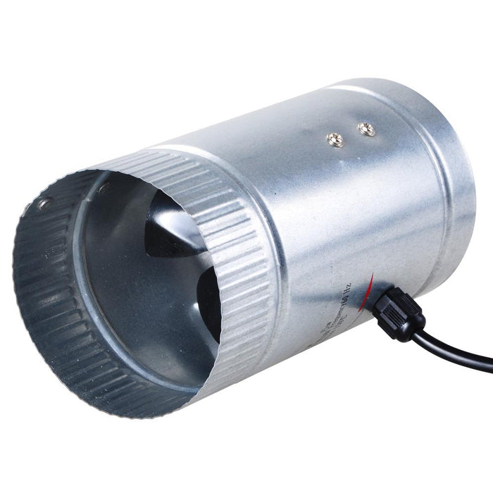 "Yescom 4"" Aluminum Blade Duct Fan Vent Exhaust Blower"