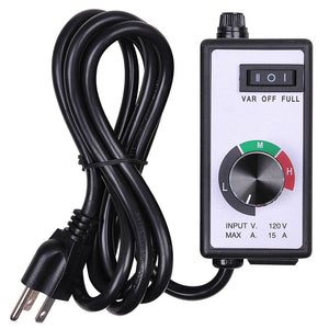 Yescom Speed Controller 120v 3 Setting for Exhaust Duct Fan