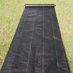 Yescom 4'x250' Landscape Cover Fabric 4.1oz PP Woven Weed Barrier