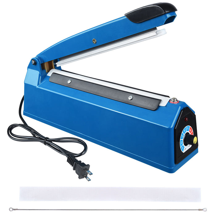 Yescom Plastic Bag Sealer Impulse Heat Sealing Machine 8""