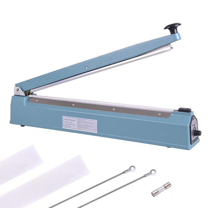 Yescom Plastic Bag Sealer Impulse Heat Sealing Machine 20""
