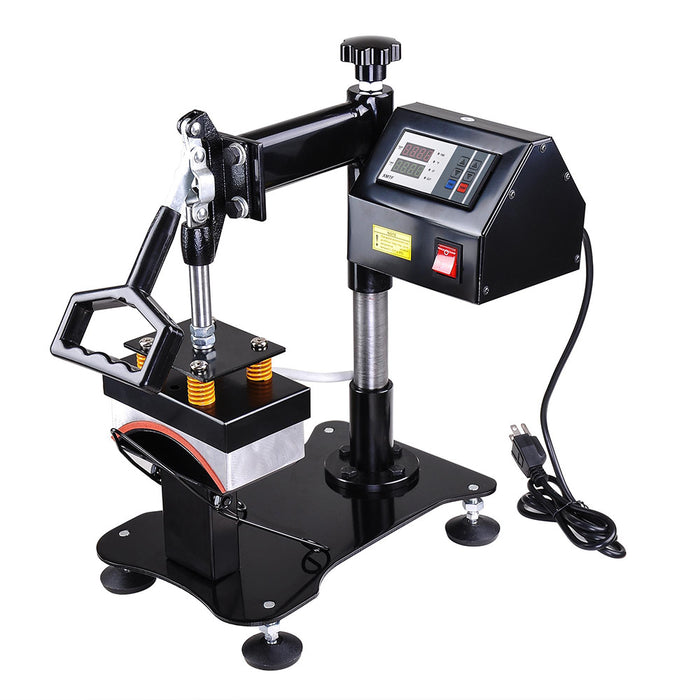 Yescom Hat Cap Heat Press Sublimation Transfer Machine Black