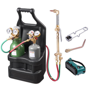 Yescom DOT Victor-Style Welding & Cutting Torch Kit Oxygen Acetylene