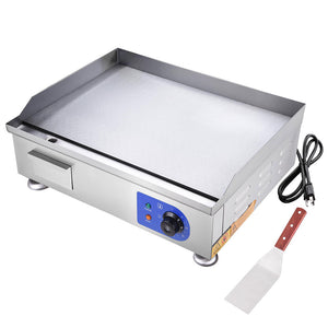 Yescom Electric Countertop Griddle Flat Grill 24in 2500W