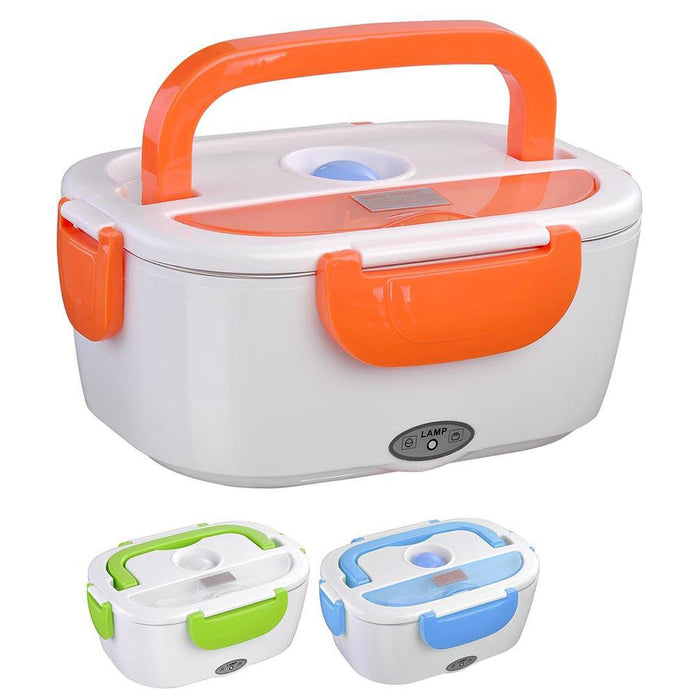 Yescom 1.5L Electric Heating Lunch Box Bento Portable Food Container