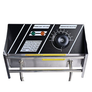 Stainless Steel Electric Countertop Fat Deep Fryer 12L