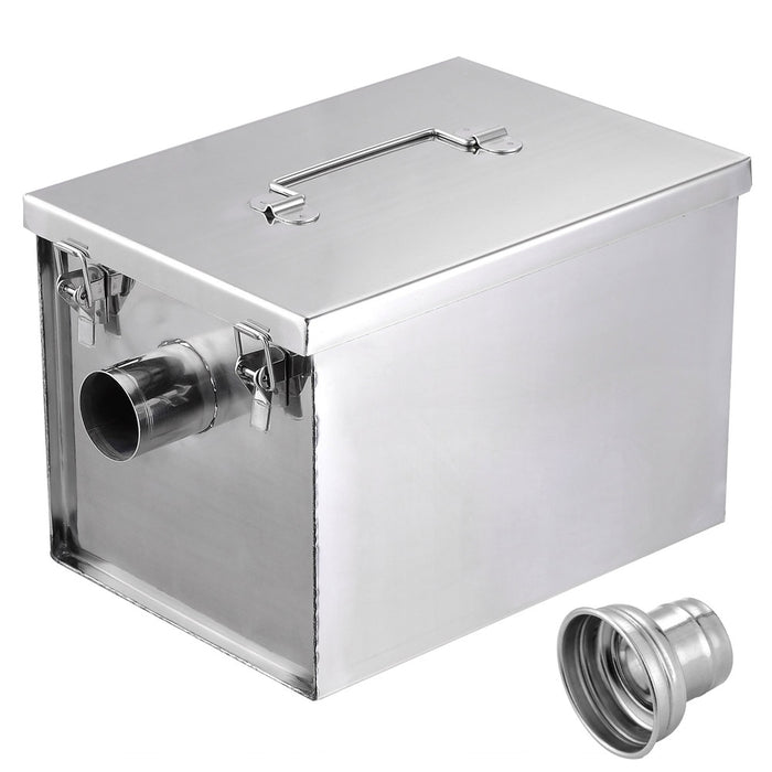 Yescom Grease Trap 8 lbs Capacity 5gpm Restaurant Oil Collection