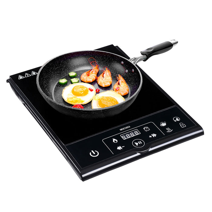 Yescom Electric Cooktop Touch Control Single Induction 11 in.
