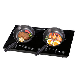 Yescom Electric Cooktop Touch Control 2-Booster Induction 24 in.