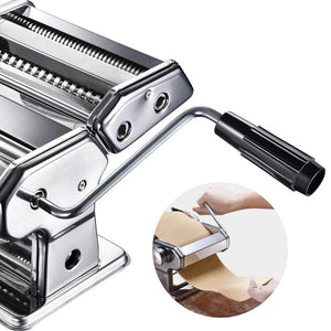 Yescom Pasta & Noodle Maker Machine Detachable 2 Pasta Rollers