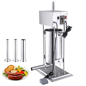 Yescom 33 lbs. Commercial Electric Vertical Sausage Stuffer Speed Control