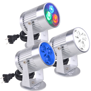 Yescom Pinspot LED Disco Light Party Club Lighting Color Options