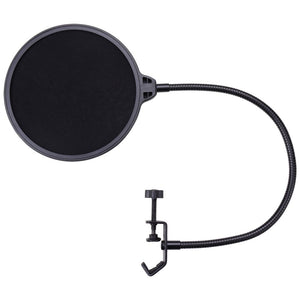 "Yescom 6"" Mic Pop Filter Dual-Layer Studio Microphone Wind Screen"