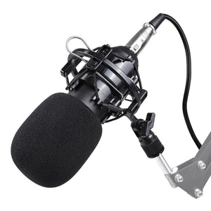 Yescom BM800 Condenser Microphone & Shock Mount Kit