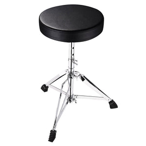 Yescom Drum Throne Adjustable Folding Swivel Padded Seat Stool