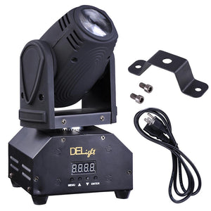 DELight Beam Moving Head Light Stage Light RGBW w/ 4 Play-mode