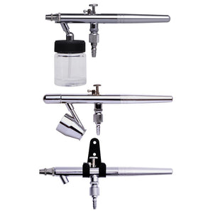 Yescom Dual Action Airbrush Spray w/ Siphon Fluid Bottle 0.35mm