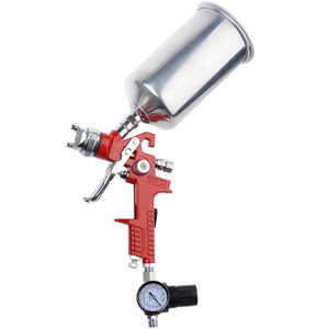 Yescom Automotive Paint Sprayer Gavity Feed HVLP Spray Gun 1.4mm