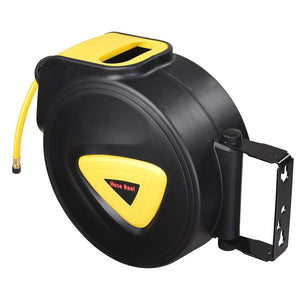 Yescom Retractable Air Hose Reel 33ft Auto Rewind Wall Mount 5/16in