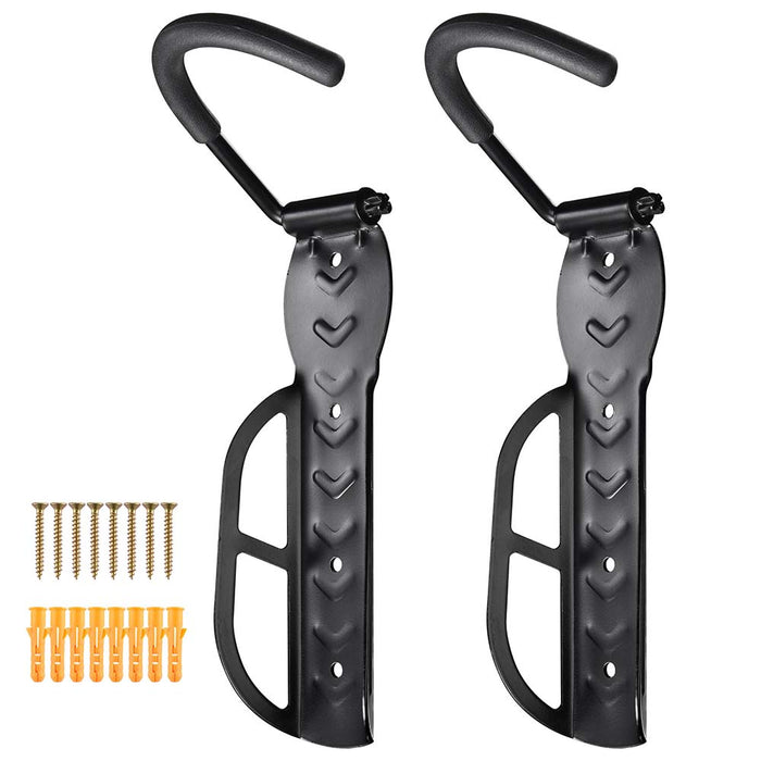 Yescom Bike Rack Garage Vertical Bike Hanger 2 Bike Hook