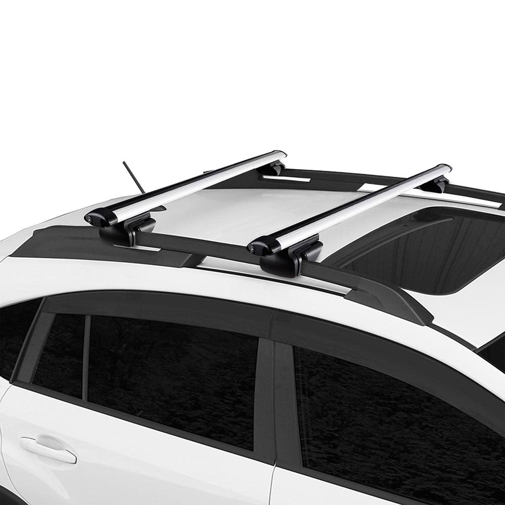 Yescom 55 Car Top Roof Rack Luggage Carrier Universal Cargo Cross Bar Yescomusa