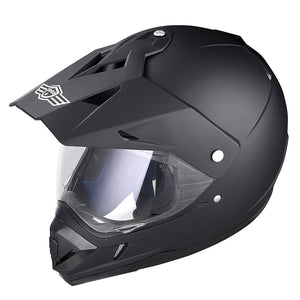 AHR Offroad Helmet DOT Full Face Dirt Bike Black