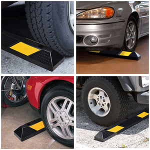 Yescom 36 in Commercial Rubber Parking Stop Block Wheel Tire Curb (Preorder)