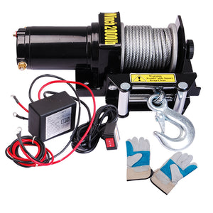 Yescom ATV Remote Electric Winch Car Recovery 2000 12v