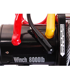 Yescom Electric Winch Recovery Remote Control 8000 12v