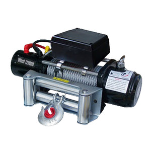 Yescom Electric Winch Industrial Remote Control 12000 12v