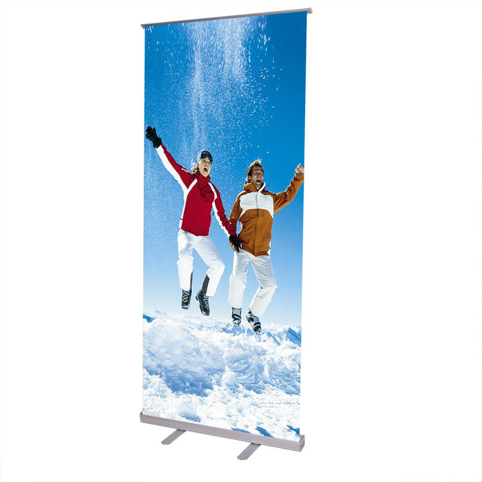 Yescom 32 x 79 in Adjustable Trade Show Roll up Retractable Banner Stand