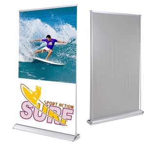 "Yescom 47""x78"" Retractable Banner Stand & Rear Projector Screen"