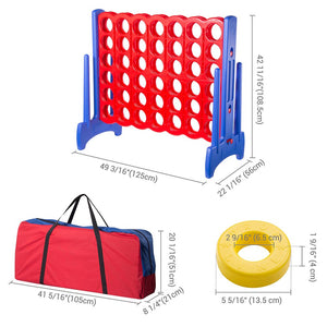 Winspin Giant Connect Four Backyard Game 4 in A Row Life Size