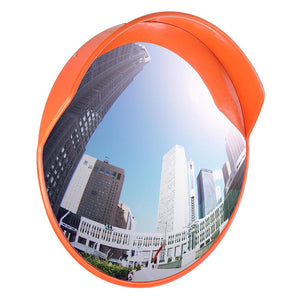 Yescom 24in Outdoor Safety Convex PC Mirror Wide Angle Traffic Security