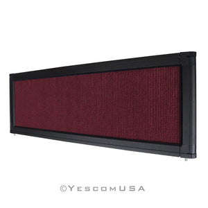 Yescom Trade Show Display Folding Board Header Burgundy