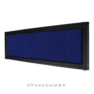 Yescom Trade Show Display Folding Board Header Blue
