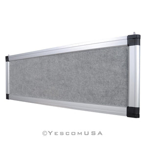 Yescom Trade Show Display Folding Board Header Gray