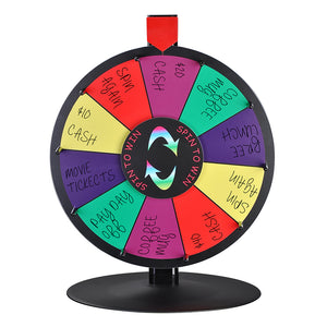 WinSpin Prize Wheel Tabletop Dry Erase Round Base 15""