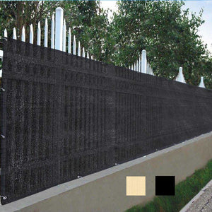 Yescom Residential Privacy Screen Fence Polyethylene 4'x50'